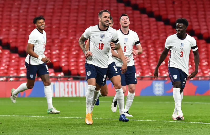 Trio of first goals as England ease to 3-0 win over Wales