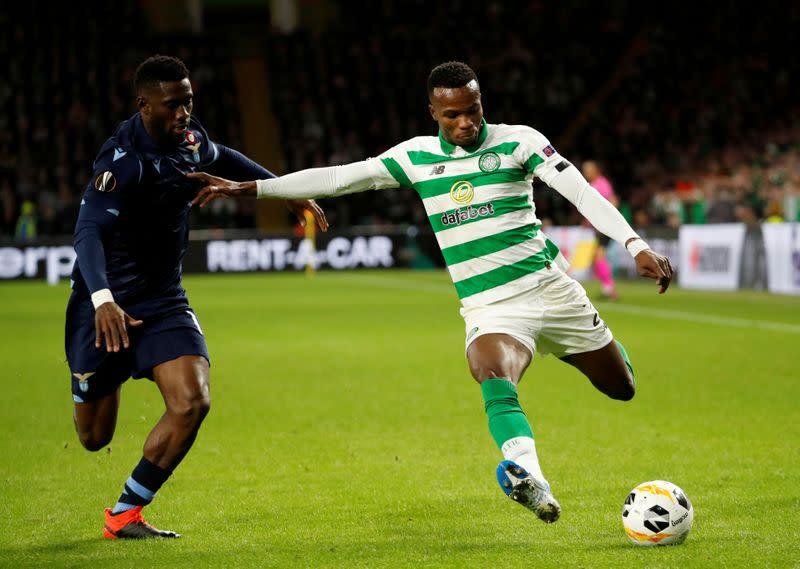 Celtic's Bolingoli gets three-match ban over quarantine breach