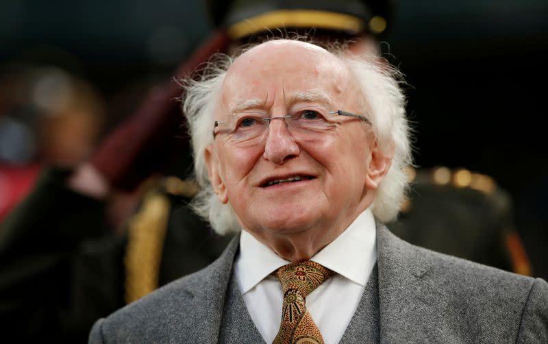 'Rave on': Irish president helps celebrate Van Morrison's 75th birthday