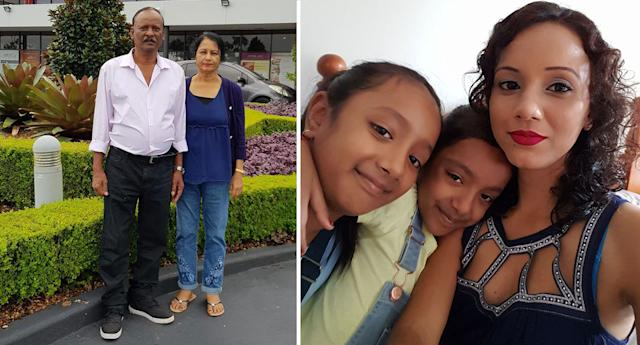 Family killed in mysterious circumstances in Fiji: Nirmal Kumar, 63, and Usha Devi, 54, and their daughter Nileshni Kajal, 34, and her daughters Sana, 11, and Samara, 8.