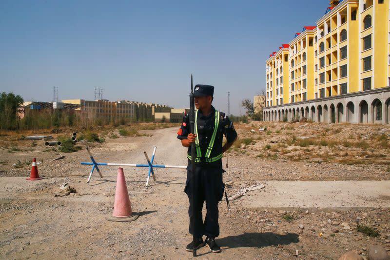 China official media blasts U.S. Uighur bill, calls for reprisals