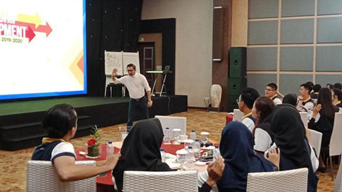 Leadership Development Djarum Beasiswa Plus 2019/2020 Batch 5, Hari ketiga pada Selasa (18/02/2020) di Eastparc Hotel, Yogyakarta. (Foto: Wuri Anggarini)