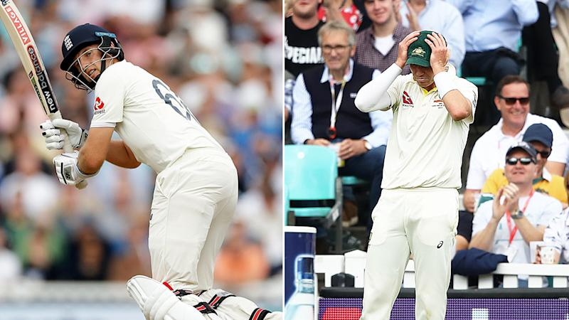 Peter Siddle squandered a glorious chance to remove Joe Root.