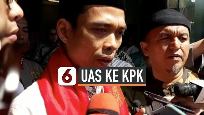 VIDEO: Pesan Ustaz Abdul Somad kepada Pimpinan KPK