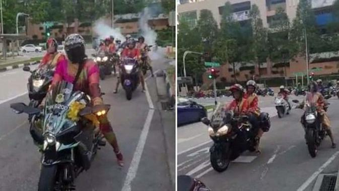 Top3 Berita Hari Ini: Lady Biker Berkain Sari dan Harga Kawasaki Ninja 4 Silinder