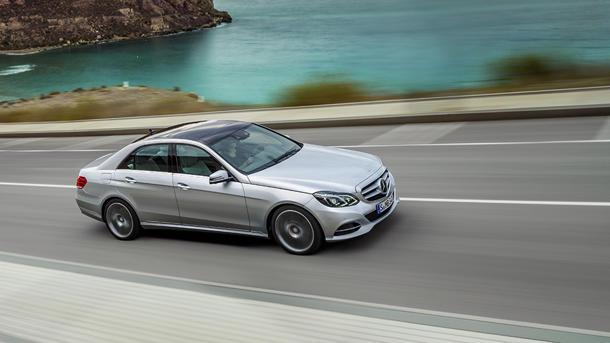 2014 Mercedes E-Class, pressed and steamed: Motoramic Drives