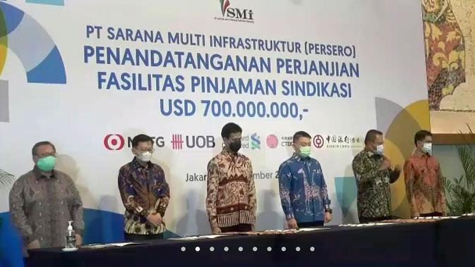 PT SMI Dapat Pinjaman dari Bank Asing Senilai Rp 10,26 Triliun