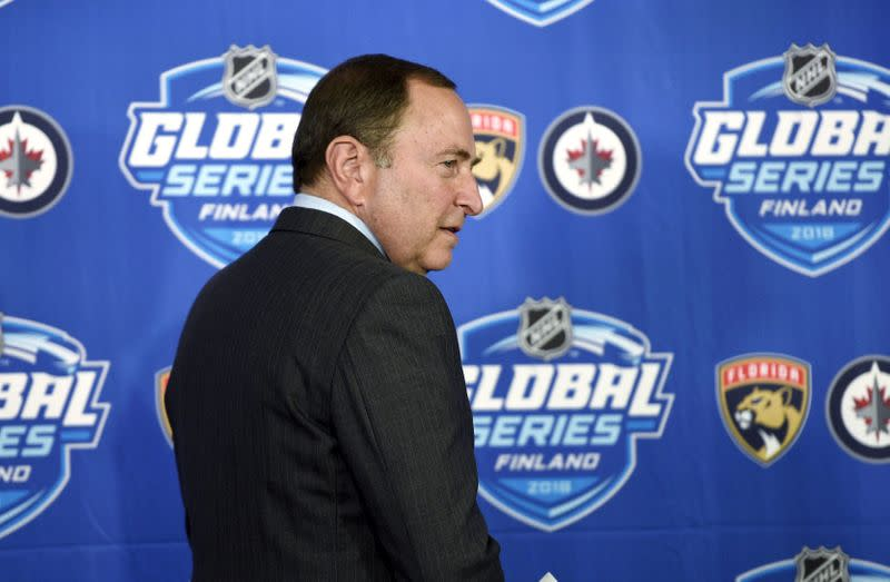 Report: NHL down to six possible hub cities
