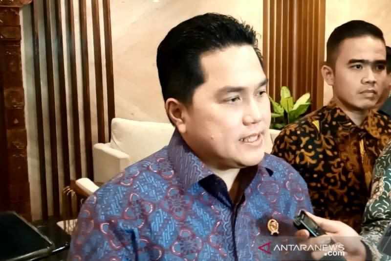 Erick Thohir akan temui Prabowo dan Mahfud MD membahas ASABRI