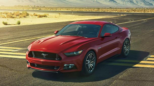 2015 Ford Mustang revealed as an American pony car with a passport