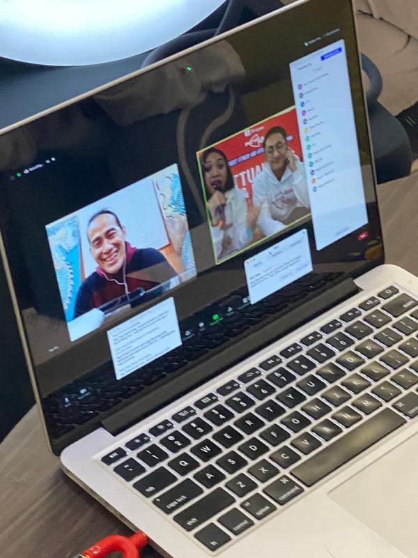 Konferensi pers Shopee Fittual Fest dilakukan secara virtual. (Istimewa)