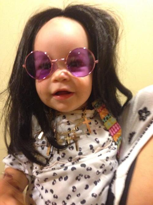 Jack Osbourne's Daughter a Dead Ringer for Granddad Ozzy