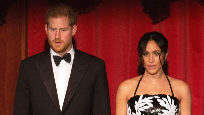 Pangeran Harry dan Meghan Markle (Ian Vogler / POOL / AFP)
