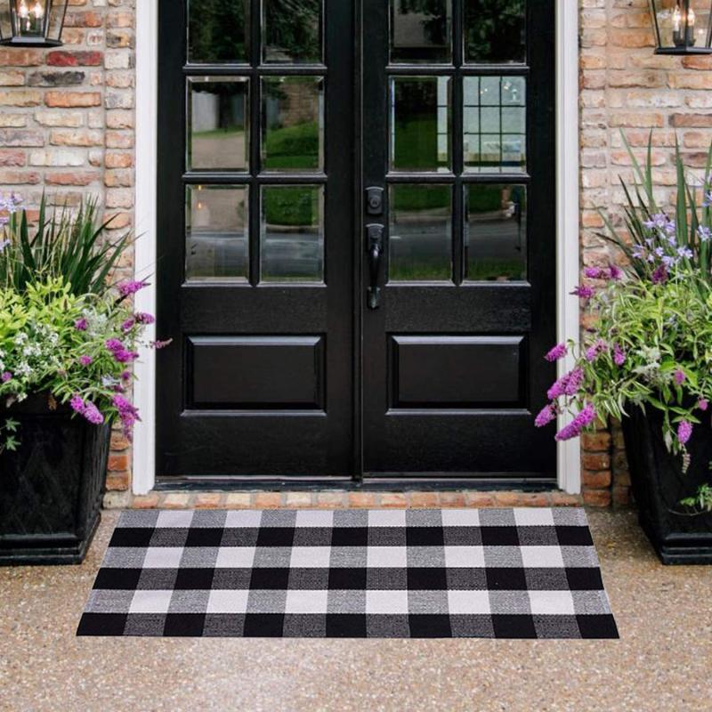 Buffalo Check Doormat.