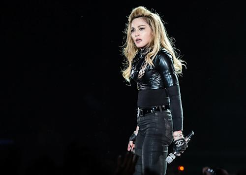 Fans Boo Madonna in Paris