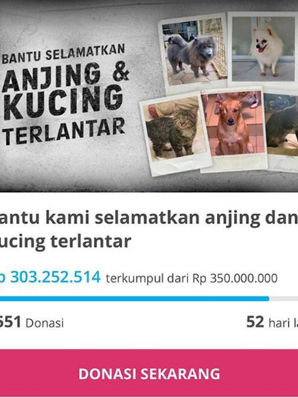 Donasi untuk Yayasan Sarana Metta Indonesia