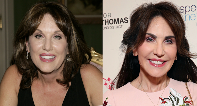 Robin McGraw. Images via Getty Images.