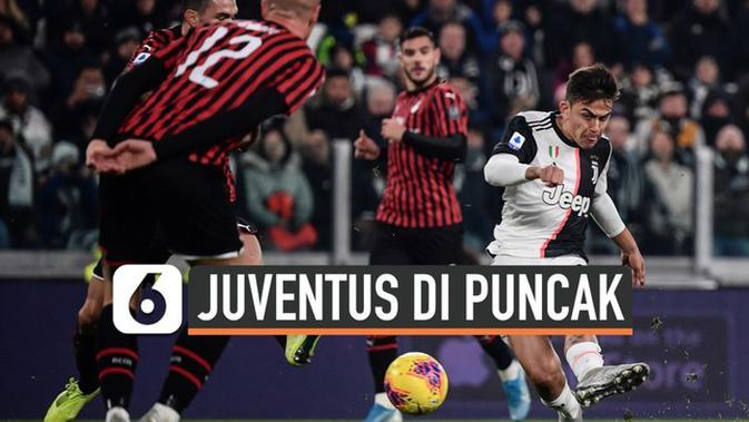 VIDEO: Tekuk AC Milan 1-0, Juventus Makin Kokoh di Puncak