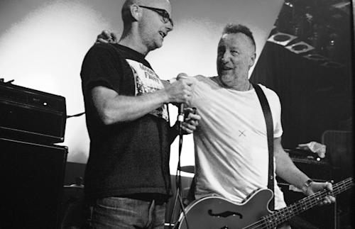 Moby Sings New Order Songs With Peter Hook