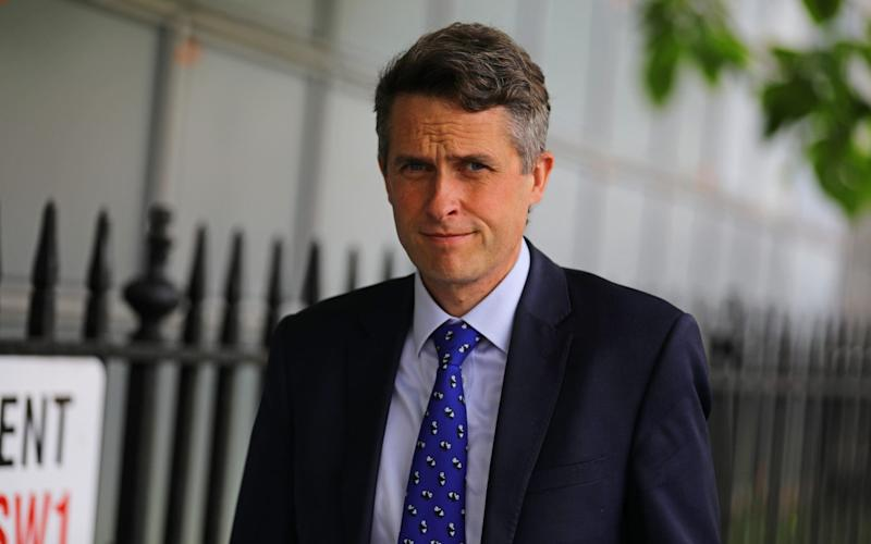 According to Whitehall and education insiders, Gavin Williamson, the Education Secretary, will next week confirm that the exam timetable will be extended to mid-July - PA