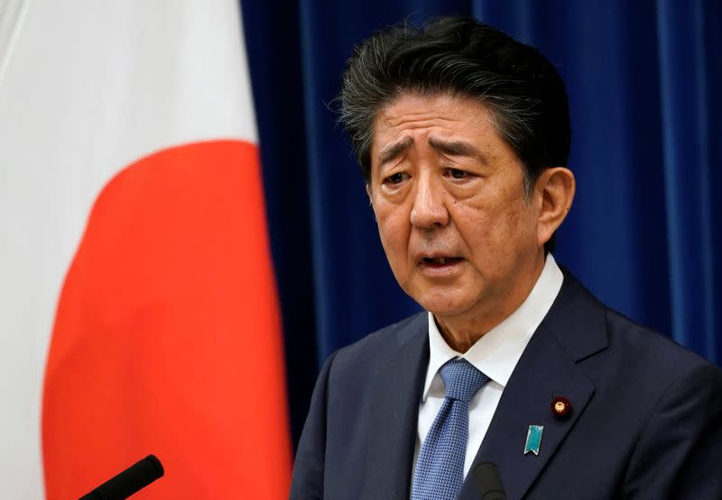 Party election to pick PM Abe's successor around September 15, media say