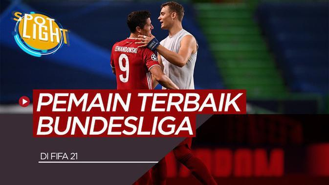 VIDEO: Robert Lewandowski, Manuel Neuer dan 3 Pemain Terbaik Bundesliga di FIFA 21; Pemain Bayern Munchen Mendominasi