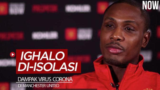 VIDEO: Virus Corona Paksa Manchester United Mengisolasi Ighalo