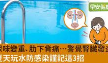 泳池消暑卻成感染溫床!預防細菌入侵腎臟這樣做