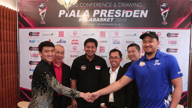 Press Conference & Drawing Piala Presiden Bola Basket 2019.