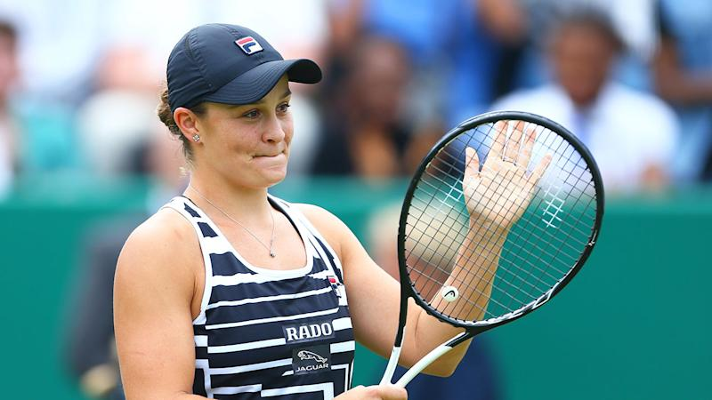 Ash Barty's stunning form has seen her rise to World No.1.