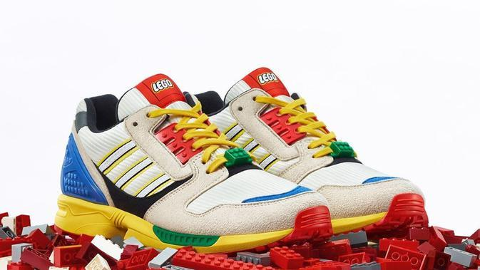 Nostalgia Asiknya Main Lego di Koleksi Sneakers Adidas Terbaru