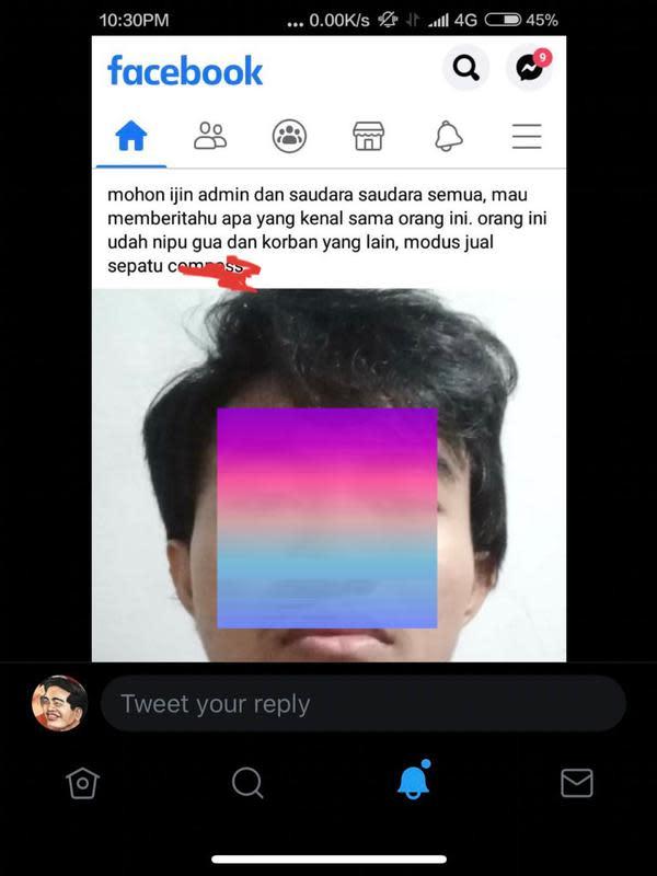 Unggahan terkait Kaesang Pangarep. (Foto: Dok. Twitter @ArnoldPoernomo)