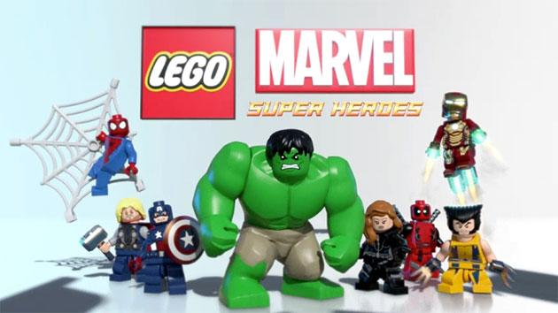 Lego Marvel Super Heroes Snap Together in Exclusive Game Trailer