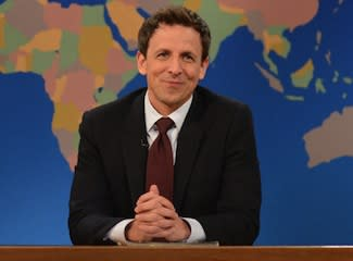 TVLine Items: Seth Meyers' SNL Status, Sherlock Ratings, Amazon's Barbarella Pilot and More