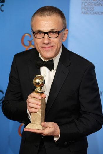 That's a bingo! Christoph Waltz wins another Golden Globe for another Tarantino performance