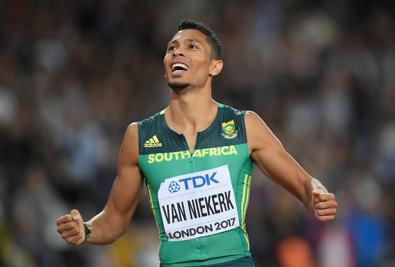 Olympic champion Van Niekerk eyes new record after injury setback