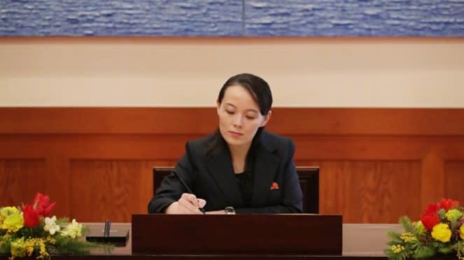 Kim Yo-jong, adik Pemimpin Korea Utara Kim Jong-un