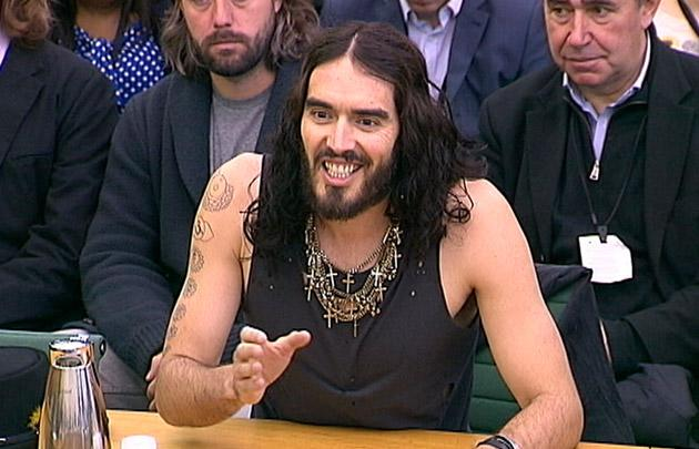 Russell Brand wants drugs decriminalized in England