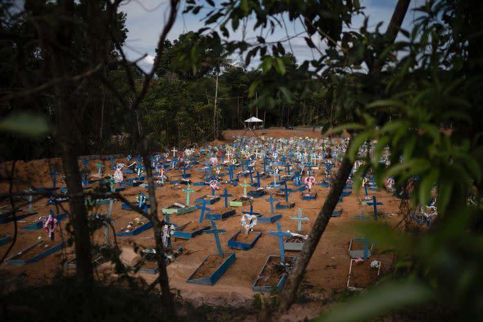 Graves in Brazil