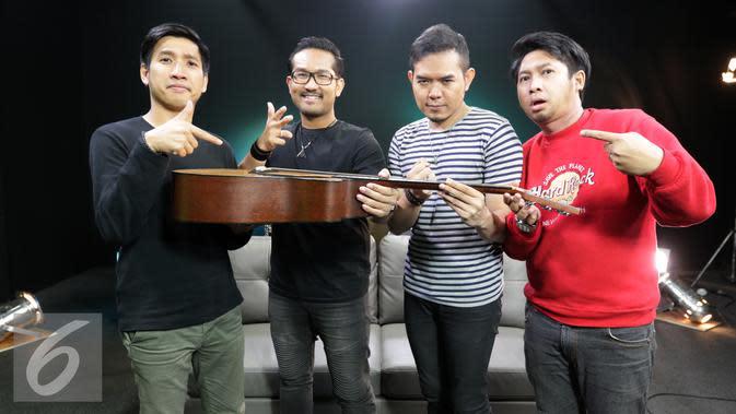 Band Samsons. (Liputan6.com/Fery Pradolo)