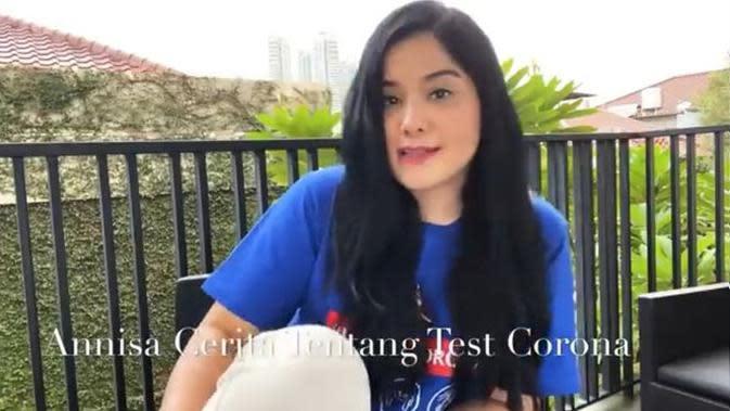 Annisa Pohan menjelaskan soal kondisinya