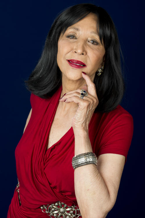 "This July 18, 2012 photo shows model China Machado in New York. Machado appears in a new documentary called ""About Face: Supermodels Then and Now"" premiering on HBO on July 30. The film looks at topics like each model's career, aging and our culture's obsession with youth. (Photo by Charles Sykes/Invision/AP)"