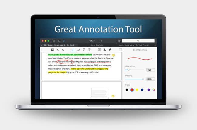 PDF Expert Mac App