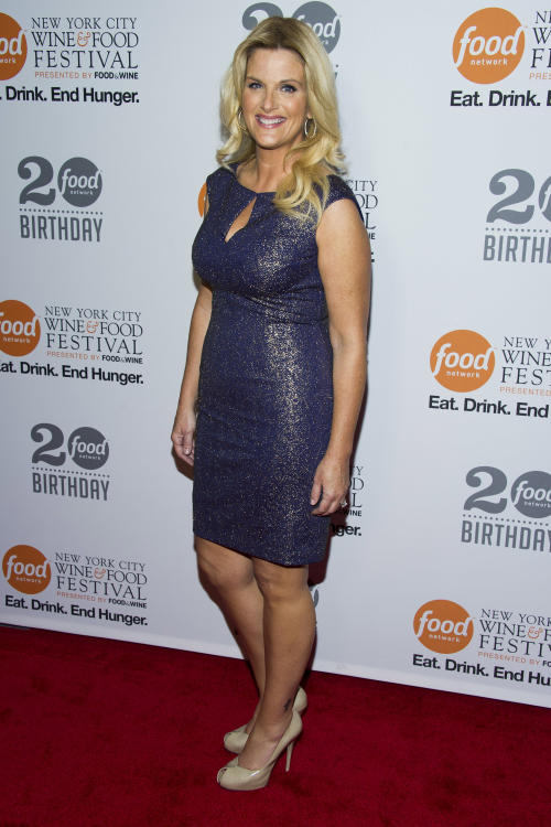 Trisha Yearwood attends the Food Network's 20th birthday party on Thursday, Oct. 17, 2013, in New York. (Photo by Charles Sykes/Invision/AP)
