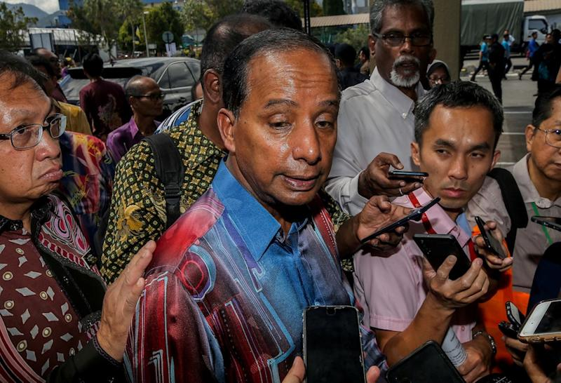 Human Resources Minister M. Kulasegaran speaks to the press at the launch of SkilssMalaysia 2.0:Skills4all at the Perak Industrial Training Institute in Ipoh December 3, 2019. — Picture by Farhan Najib