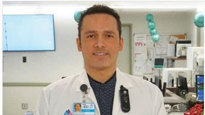Kious Jordan Kelly, Perawat yang Meninggal Karena Corona Covid-19. (dok.Instagram @illmatica/https://www.instagram.com/p/B-LFhcvDYzm/Henry)