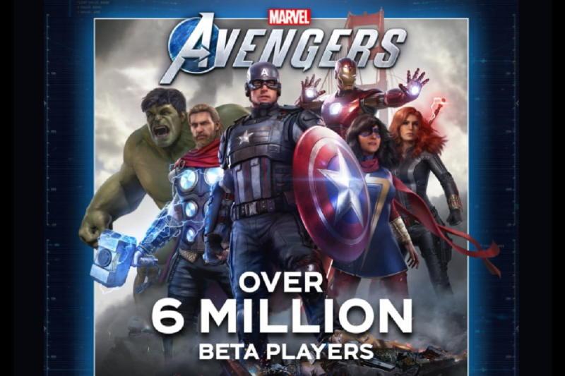 Marvel's Avengers beta test draws more than 6 million players