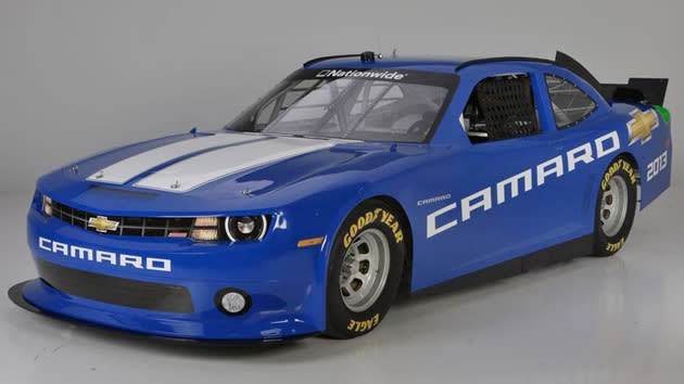 Chevy Camaro NASCAR ride bends a few rules for competition