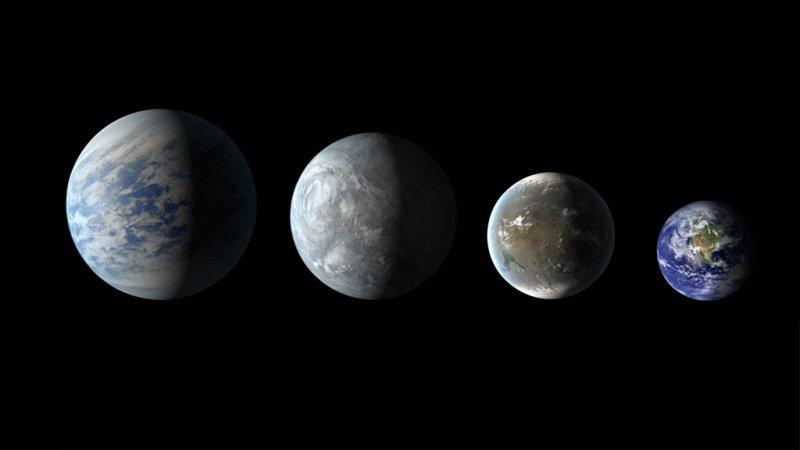 Big, Beautiful Pictures Of 4 New Planets That Could Have Life On Them
