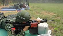 烈嶼守備大隊射擊訓練 提升戰技